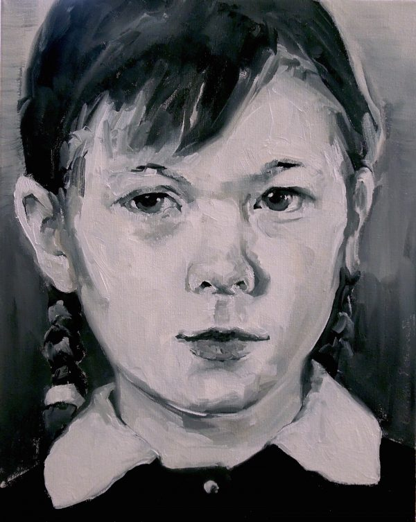 Portrait of a girl by Larissa Eremeeva from the collection Casual Thinking of the Metrical Mind