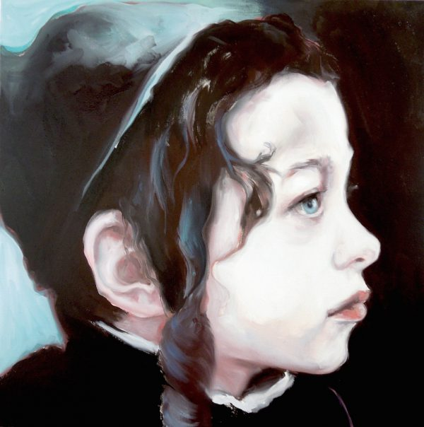 Portrait of a young boy with sidelocks by Larissa Eremeeva from the collection Casual Thinking of the Metrical Mind
