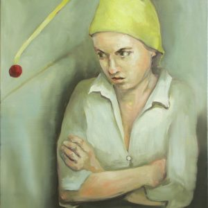 Portrait of a girl in hat by Larissa Eremeeva from the collection Casual Thinking of the Metrical Mind