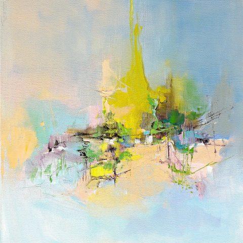 Diary of Wishful Tendencies (oil/canvas)